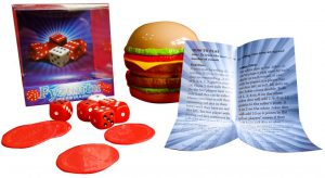 Fyzuntu Burger Dice Game contents