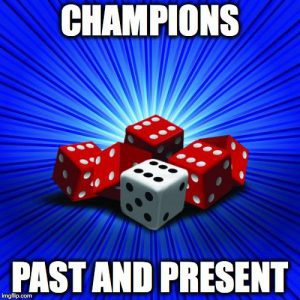 Past and present champions