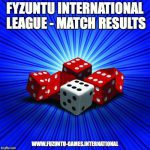 Banner for the Fyzuntu International League