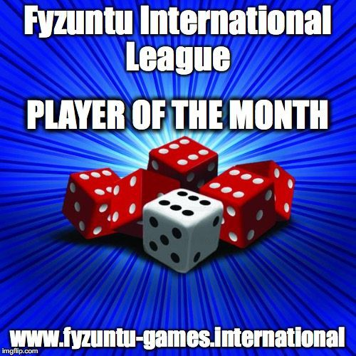 Image for the Fyzuntu International Player of the Month