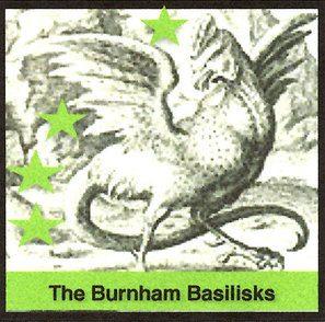The icon for the Burnham Basilisks
